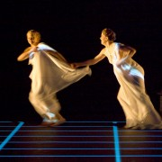 Studies in Motion, 2009. Anastasia Phillips and Erin Wells. Photo by Tim Matheson