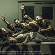 Kidd Pivot // Electric Company Theatre's Betroffenheit, 2015. The Cast. Photo © Wendy D Photography