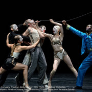 Kidd Pivot // Electric Company Theatre's Betroffenheit, 2015. The Cast. Photo © Michael Slobodian